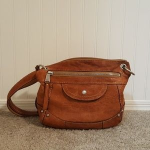 Fossil Leather Hobo Purse